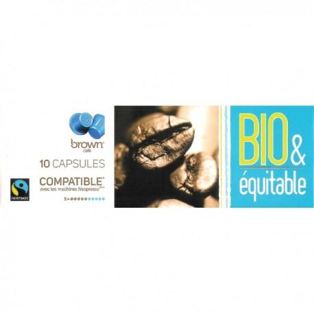 10 capsules Brown Bio & Equitable