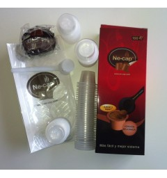 Ne-cap 100 capsules compatibles Nespresso (opercules autocollantes)