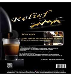 Capsules compatibles Nespresso® Arôme Vanille
