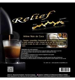 Capsules compatibles Nespresso ® Arôme Noix de Coco