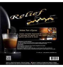 Capsules compatibles Nespresso ® Arôme Pain d'Epices
