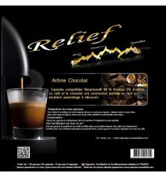 Capsules compatibles Nespresso ® Arôme Chocolat