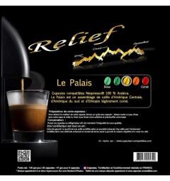 Le Palais Capsules Relief compatibles Nespresso ®