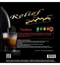 Tradition Capsules Relief compatibles Nespresso ®