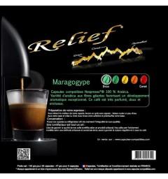 Maragogype capsules Relief compatibles Nespresso ®