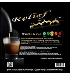 Nouvelle Guinée Capsules Relief compatibles Nespresso ®