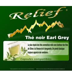 Capsules compatibles Thé Noir Earl Grey
