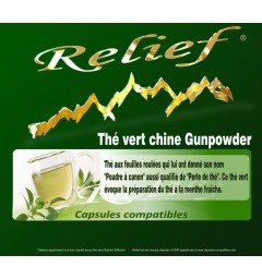Capsules compatibles Thé vert Chine Gunpowder