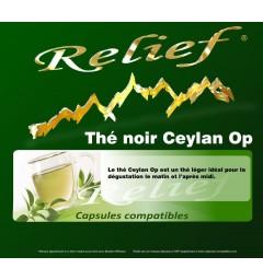 Capsules compatibles Thé Noir Ceylan Op