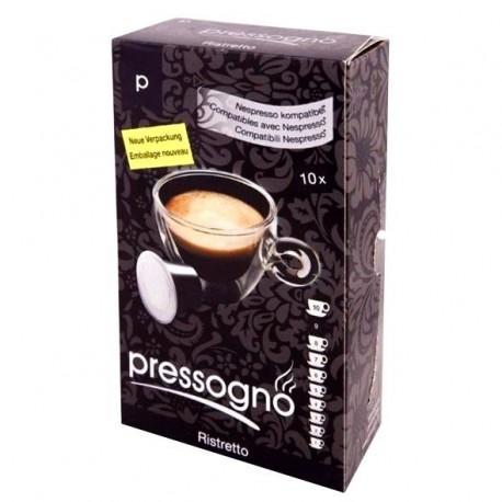 Pressogno Espresso Medium, capsules compatibles Nespresso®