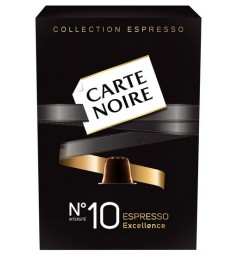N°10 Carte Noire capsules, Compatible with Nespresso ®.