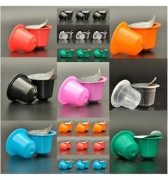 70 Capsules compatibles de couleur + opercules autocollantes