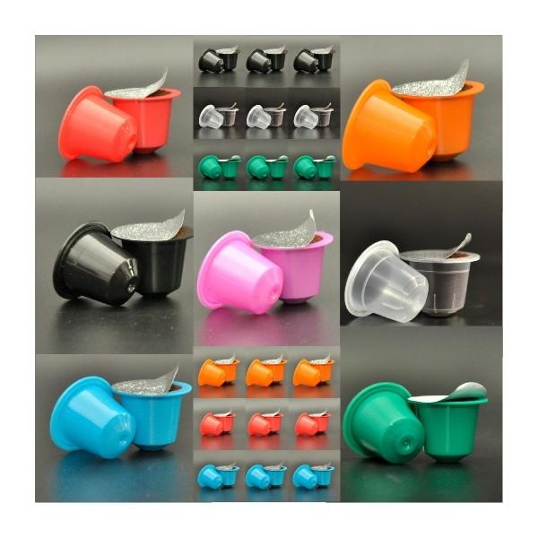 capsules compatibles nespresso de couleur. Black Bedroom Furniture Sets. Home Design Ideas