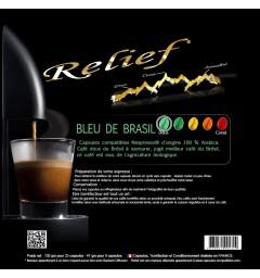 Bleu de Brasil capsules Relief compatibles Nespresso ®