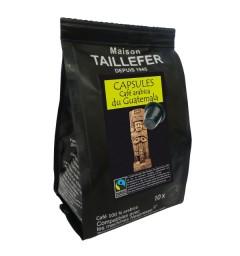 Capsules compatibles Nespresso ® Guatemala de la Maison TAILLEFER