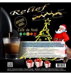 Capsules Café de Noël RELIEF compatibles Nespresso ®