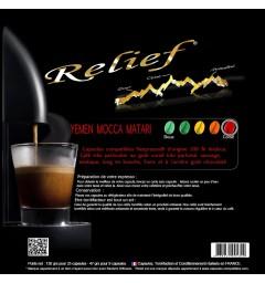 Relief Capsules Nespresso compatible YEMEN MOCCA Matari