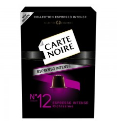 N°12 Carte Noire capsules, Compatible with Nespresso ®.