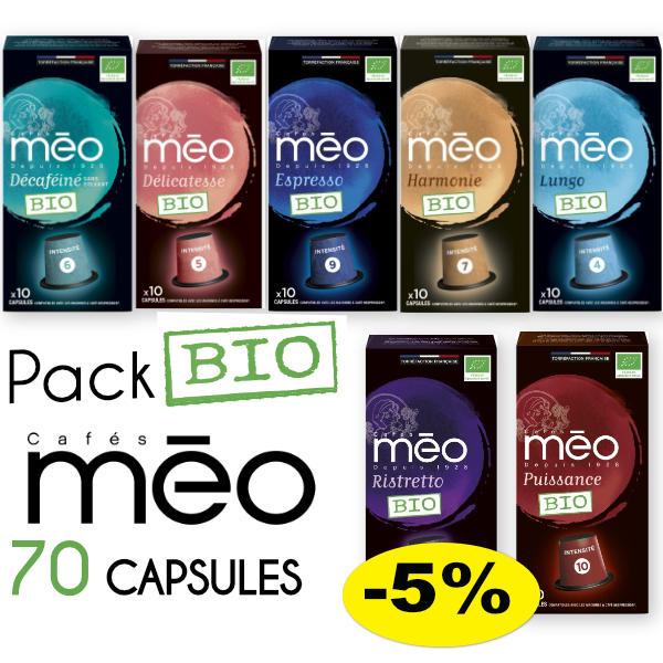 Pack_Bio_Cafés_Méo_70_capsules_compatibles_nes
