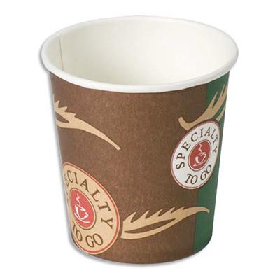 100 Gobelets cartons 12 cl pour votre café