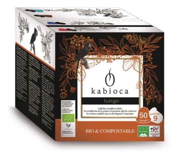 kabioca lungo compatible Nespresso ® bio and compostable capsules